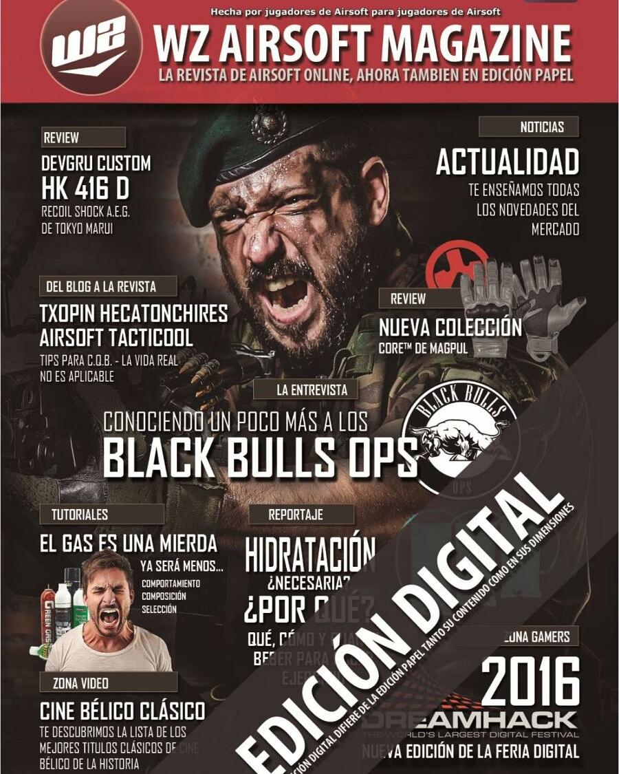 Reportaje de Black Bulls Ops en la revista WZA MAGAZINE